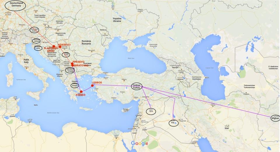 MAPA ruta balcanes - FINAL